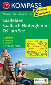 Saalfelden Saalbach Zell am See 1:50T Kompass