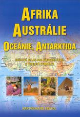 Afrika, Austrálie a Oceánie sešitový atlas pro ZŠ