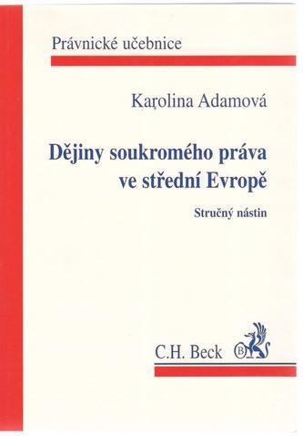 Dějiny soukromého práva ve střední Evropě