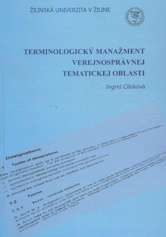 Terminologický manažment verejnosprávnej tematickej oblasti