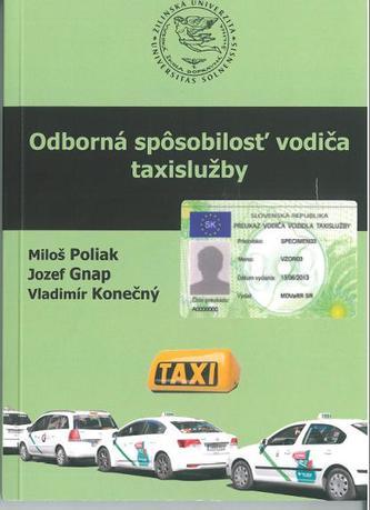 Odborná spôsobilosť vodiča taxislužby