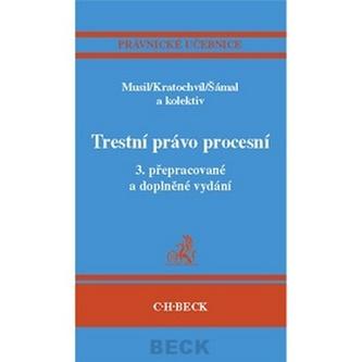 Trestní právo procesní, 3.vydání