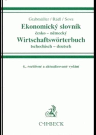 Ekonomický slovník česko-německý Wirtschaftswörterbuch tsechitsch-deutsch
