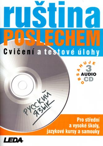 Ruština poslechem + 3CD