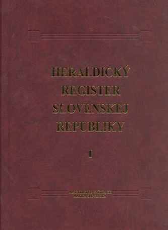 Heraldický register Slovenskej republiky I