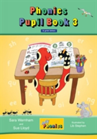 Jolly Phonics Pupil Book 3 (colour edition) - Wernham, Sara