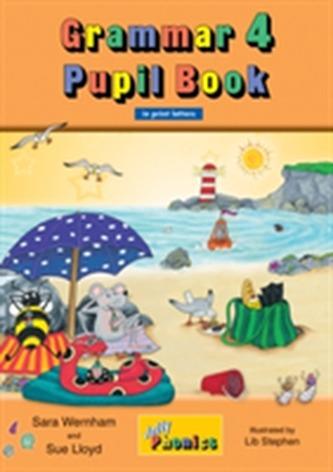 Grammar 4 Pupil Book (in print letters) - Wernham, Sara
