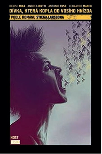 Dívka, která kopla do vosího hnízda - komiks