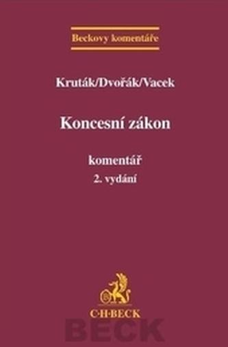 Koncesní zákon. Komentář, 2. vydání