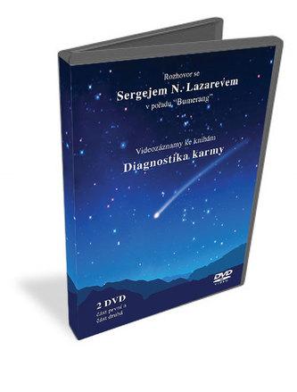 Bumerang - DVD (videozáznamy ke knihám Diagnostika karmy) - Lazarev S.N.