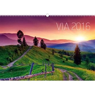 Kalendář nástěnný 2016 - Cesty,  48 x 33 cm