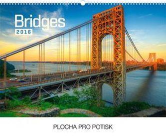 Kalendář nástěnný 2016 - Mosty,  48 x 33 cm