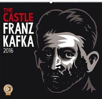 Kalendář nástěnný 2016 - Zámek - Franz Kafka, 48 x 46 cm
