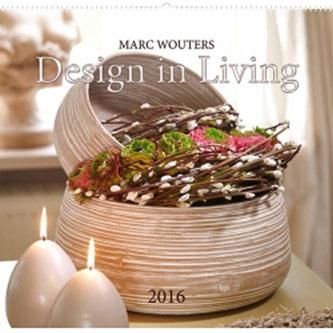 Kalendář nástěnný 2016 - Design in Living - Marc Wouters, 48 x 46 cm