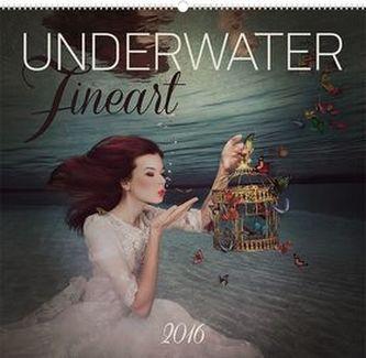 Kalendář nástěnný 2016 - Underwater Fineart - Lucie Drlíková,  48 x 46 cm