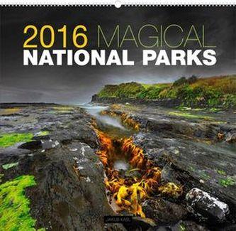 Kalendář nástěnný 2016 - Magické národní parky - Jakub Kasl,  48 x 46 cm
