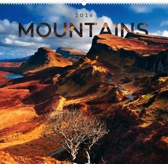Kalendář nástěnný 2016 - Hory,  48 x 46 cm