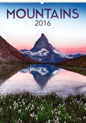 Kalendář nástěnný 2016 - Krása hor,  33 x 46 cm