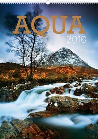 Kalendář nástěnný 2016 - Aqua,  33 x 46 cm