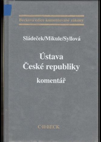 Ústava České republiky. Komentář