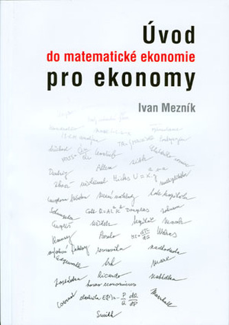 Úvod do matematické ekonomie pro ekonomy