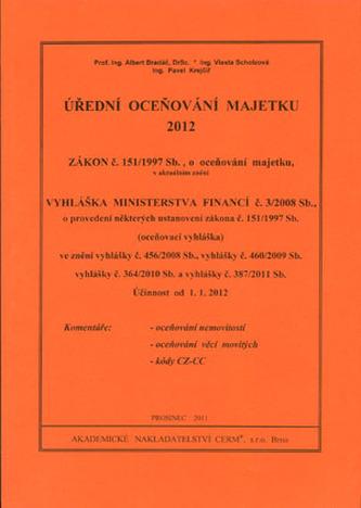 Úřední oceňování majetku 2012