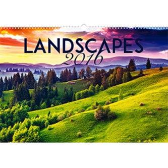 Kalendář nástěnný 2016 - Krajiny,  48 x 33 cm