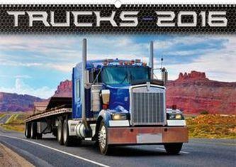 Kalendář nástěnný 2016 - Trucks - Jakub Kasl,  48 x 33 cm