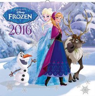 Ledové království - nástěnný kalendář 2016