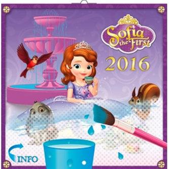 Princezna Sofie - nástěnný kalendář 2016