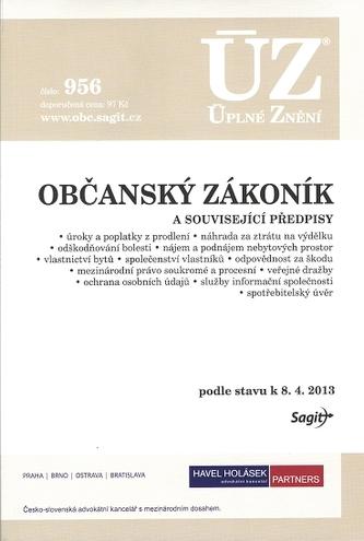 ÚZ č.956 Občanský zákoník 2013