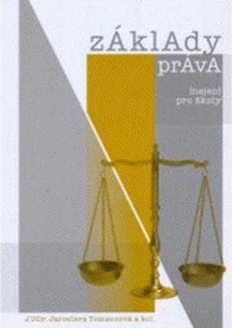 Základy práva (nejen) pro školy - Jaroslava Tomancová