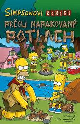 Simpsonovi - Prčou napakovaný potlach