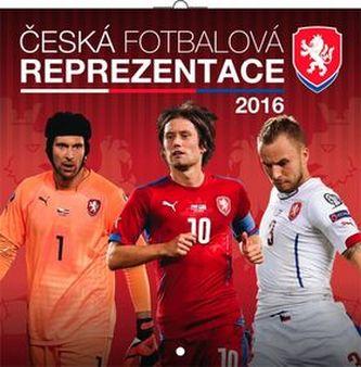 Česká fotbalová reprezentace - nástěnný kalendář 2016
