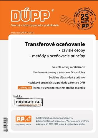 DUPP 9/2015 Transferové oceňovanie