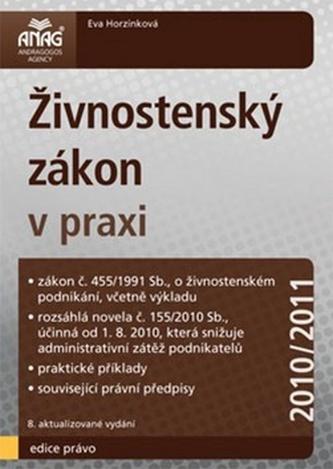 Živnostenský zákon v praxi 2010/2011