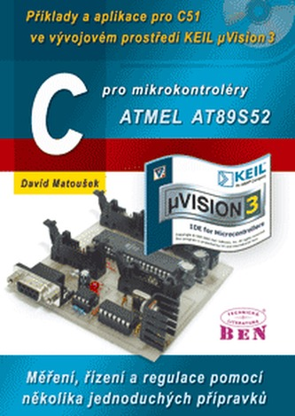 C pro mikrokontroléry ATMEL AT89S52