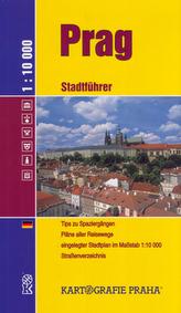 Prah Stadtführer 1:10 000