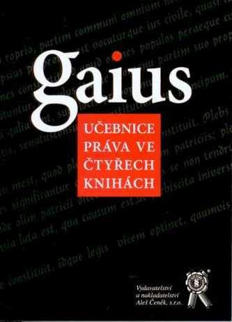 Gaius, učebnice práva ve čtyřech knihách
