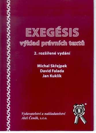 Exegésis - výklad právních textů