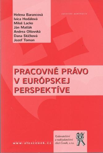 Pracovné právo v európskej perspektíve
