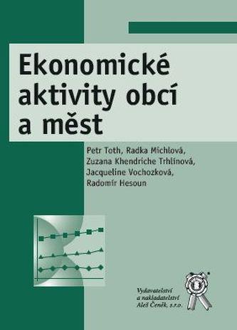Ekonomické aktivity obcí a měst