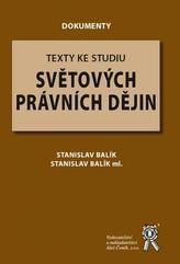 Texty ke studiu světových právních dějin