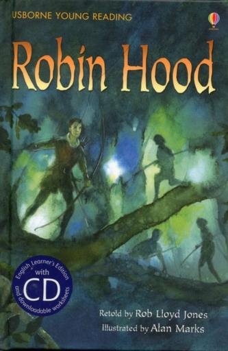 Robin Hood [Book with CD] - Jones, Rob