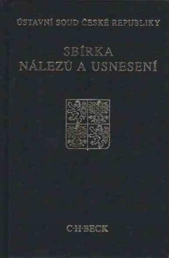 Sbírka nálezů a usnesení ÚS ČR, svazek 45