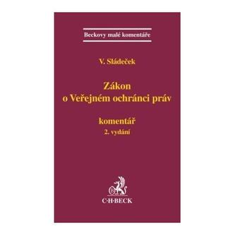 Zákon o Veřejném ochránci práv. Komentář, 2. vydání