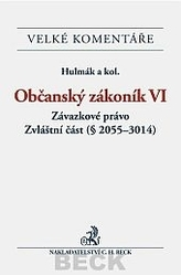 Občanský zákoník VI. Závazkové právo