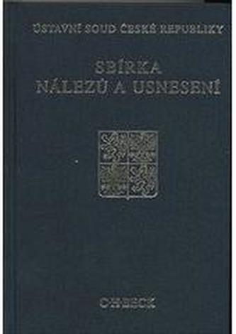 Sbírka nálezů a usnesení ÚS ČR, svazek 51