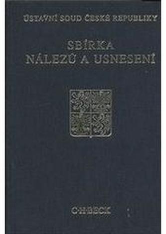 Sbírka nálezů a usnesení ÚS ČR - sv. 52 (vč. CD)