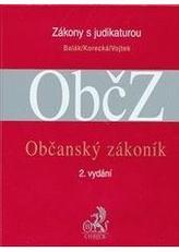 Občanský zákoník s judikaturou a souvisejícími předpisy, 2. vydání